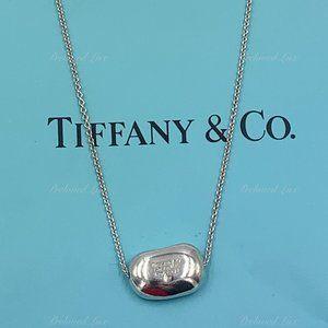 Authentic Tiffany & Co Elsa Peretti Bean Necklace